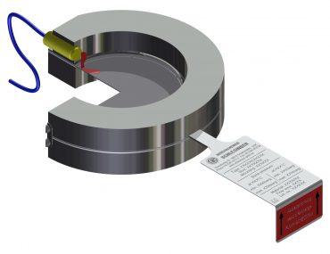 Monitor of bursting disc/Transmitter